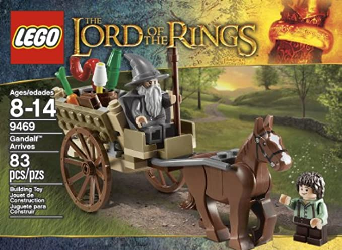 LEGO Lord Of The Rings 9469 obbit Gandalf Arrives