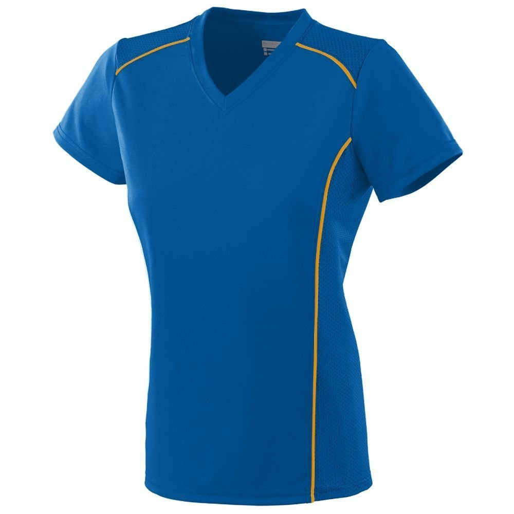 Augusta Sportswear SHIRT レディース B00IUJFVKM Small|ロイヤル/ゴールド ロイヤル/ゴールド Small