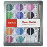 Pebbles IKCHLK-42001 Inc. I Kan'dee Chalk Set, Basic Brights