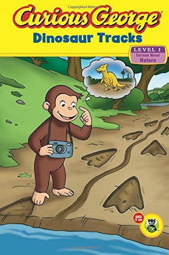 Curious George Dinosaur Tracks (CGTV Reader) by HMH Books for Young Readers