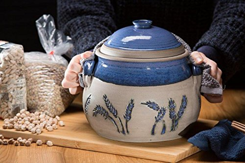 Ready to ship, Casserole Ceramic Dish, Stoneware Cooking Pot, Best Cookware, Blue Baking Dish, Large Casserole, Ceramic Pot, Bake Gift Set