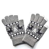 Gloves Disposable Latex Free Large,Garden Gloves,Boxing Gloves,Christmas Gloves,Men Women Christmas Warm Knitted Cute Gloves,Gray,M