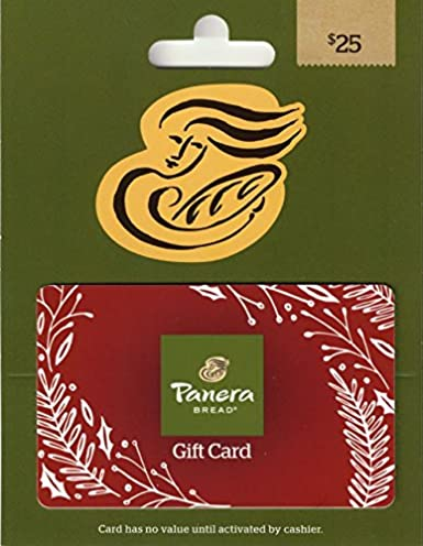 graphic regarding Panera Bread Printable Menu With Prices referred to as Panera Bread Present Card