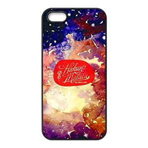Dpoly iphone 5 case Hakuna Matata Diy Design For iPhone 5/5s Hard Back Cover Case 240iphone 5 case for girls protective