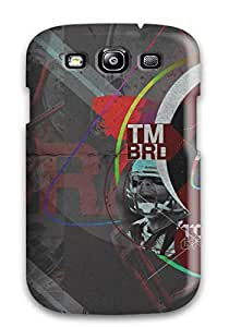 Rugged Skin Case Cover For Galaxy S3- Eco-friendly Packaging(tom Brady)