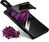 Gourmia GMS9340 Cabbage Shredder, Jumbo Mandoline Slicer and Grater – Eggplant and Cabbage Slicer with Hand Guard – Ultra Sharp Stainless Steel – Slicer and Cutter for Large Vegetables - BPA Free