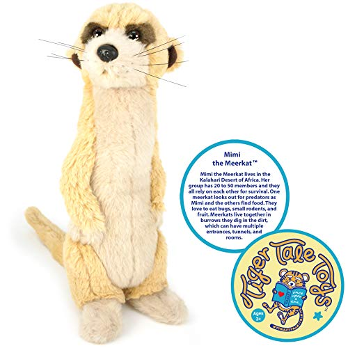 Plush Meerkat - VIAHART Mimi The Meerkat | 12 Inch Stuffed Animal Plush | by Tiger Tale Toys