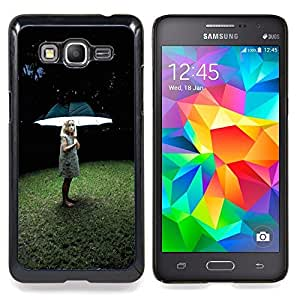 - Umbrella Light Girl Deep Grass Summer - - Monedero pared Design Premium cuero del tir???¡¯???€????€???????????