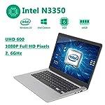 2021 14-inch light notebook Intel celeron J3455 8GB RAM, 128GB quad-core, 1.04Ghz CPU, up to 1.5Ghz, HDD, WiFi, Mini…