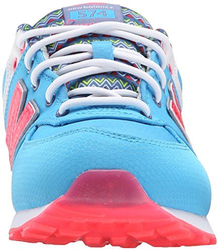 New Balance Kids Classics Textile Trainers Blue Multi