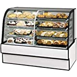 Federal Industries CGR5048DZ Curved Glass Vertical Dual Zone Bakery Case