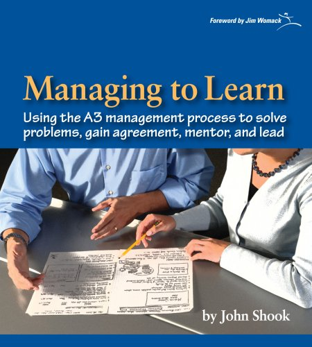 Managing to Learn: Using the A3 Management Process [John Shook] (Tapa Blanda)