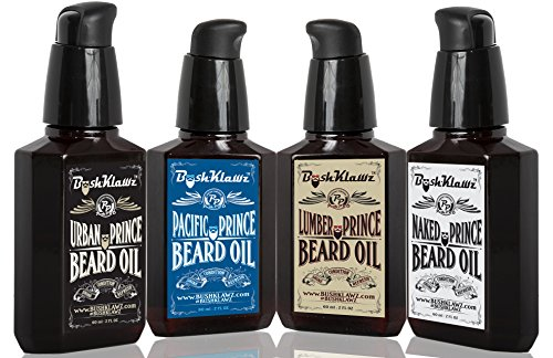 - Premium Prince Beard Oils Variety Set Pack Bundle of Full size 2 oz Lumber Pacific and Urban Prince Scents and Naked Prince Scent Fragrance Free Gift Set Bundle Kit
