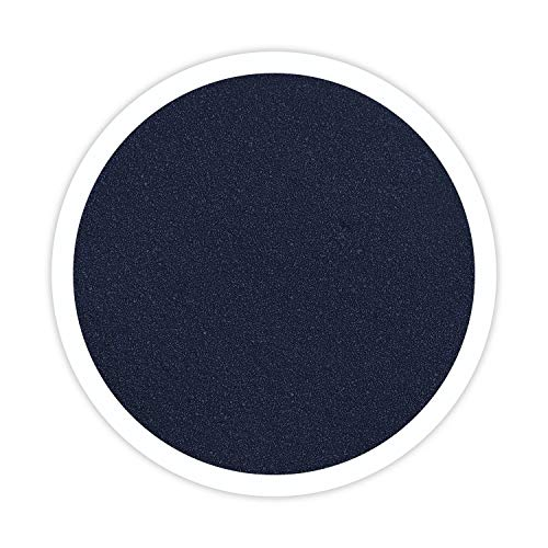 Sandsational Marine (Navy Blue) Unity Sand, ~1.5 lbs (22 oz), Navy Blue Colored Sand for Weddings, Vase Filler, Home Décor, Craft Sand (Renewed)]()