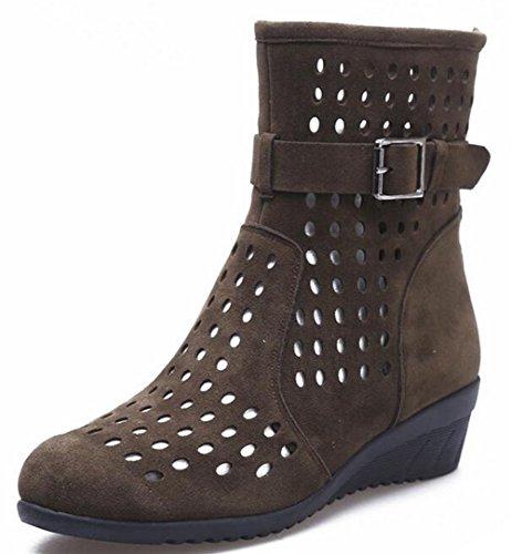 KUKI Atmungsaktive Sandalen mit Höhlentanzschuhen Moderne Square Dance Schuhe , 3 , US6 / EU36 / UK4 / CN36