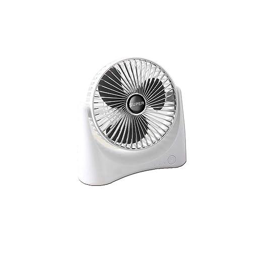 KUNI Mini Ventilador Tres velocidades USB Ventilador de Mesa ...