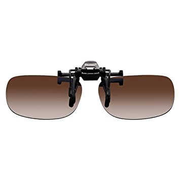 Zheino 1909 Día de la lente que conduce gafas de sol polarizadas, con clip de
