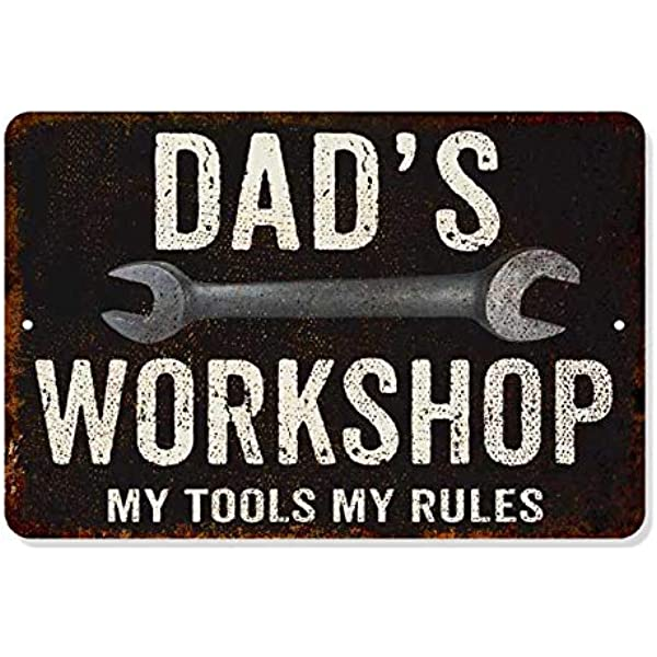 PERSONALISED STEAM TRAIN 2 LOCO ENGINE SHED WORKSHOP DAD Vintage Metal Sign RS14