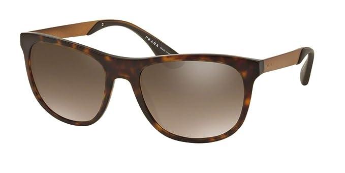 09c99b977e20 Image Unavailable. Image not available for. Color  Prada Men s PR 04SS Sunglasses  Matte Havana ...