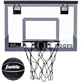 Franklin Sports Over The Door Mini Basketball Hoop - Slam Dunk Approved