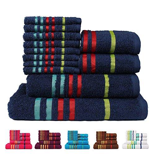 [해외]카사 코펜하겐 이국적인 코튼 배스 & amp; /Casa Copenhagen Exotic Cotton Bath & Hand Towels