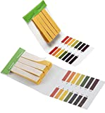 pH Test Strips, Universal Application(pH 1-14), 2 Packs of 160 Strips?Tests Body pH