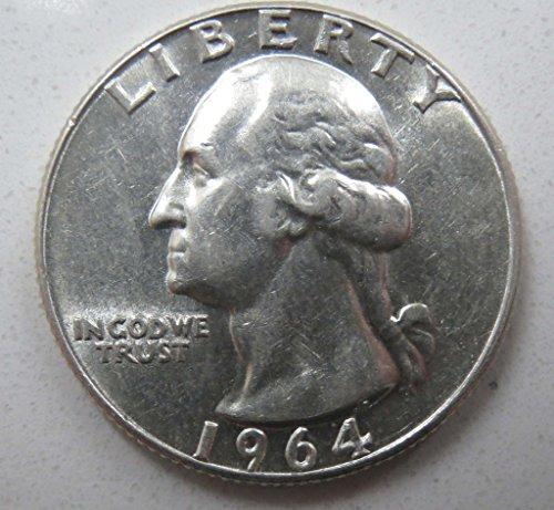 1964 D Washington Quarter Repunched Mintmark (RPM) Uncirculated