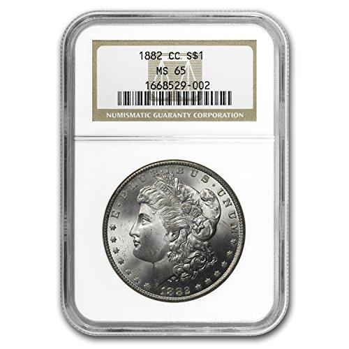 1882 CC Morgan Dollar MS-65 NGC $1 MS-65 NGC