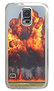 Samsung Galaxy S5 War Bomb Blast PC Custom Samsung Galaxy S5 Case Cover Transparent