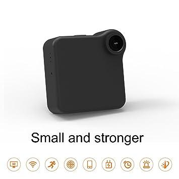 Mini Cámara Espía Inalámbrica Oculta Cámara Inalámbrica HD 1080P Niñera Cámara Incorporada con Detección De Movimiento Night Vision para iPhone/Android ...