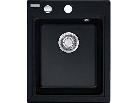 Franke Maris MRG 610-42 FRAGRANITE onice-lavandino Nero piccola l ...