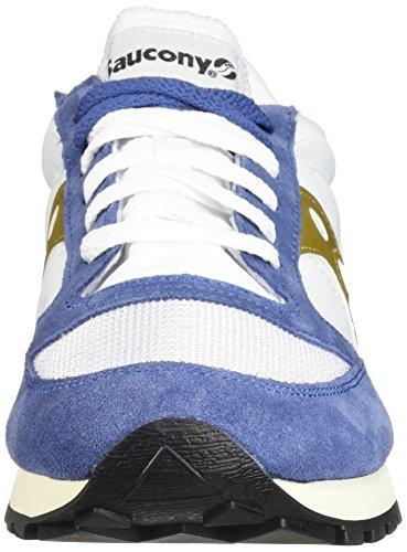 Original Jazz Saucony Turquoise Baskets Bleu Blanc Hommes Vintage Pfqtw