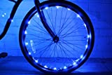 N&M Products (2 Pack) GlowRiders - Ultra Bright LED - Bike Wheel Light String - Assorted Colors Bicycle Tire Accessories- Burning Man Accessory