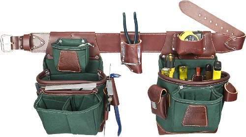 Occidental Leather 8585 M Heritage FatLip Tool Bag Set by Occidental Leather