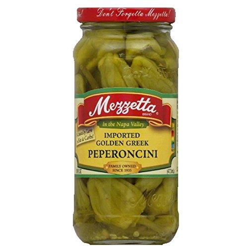 Mezzetta Golden Peperoncini, 16 Oz