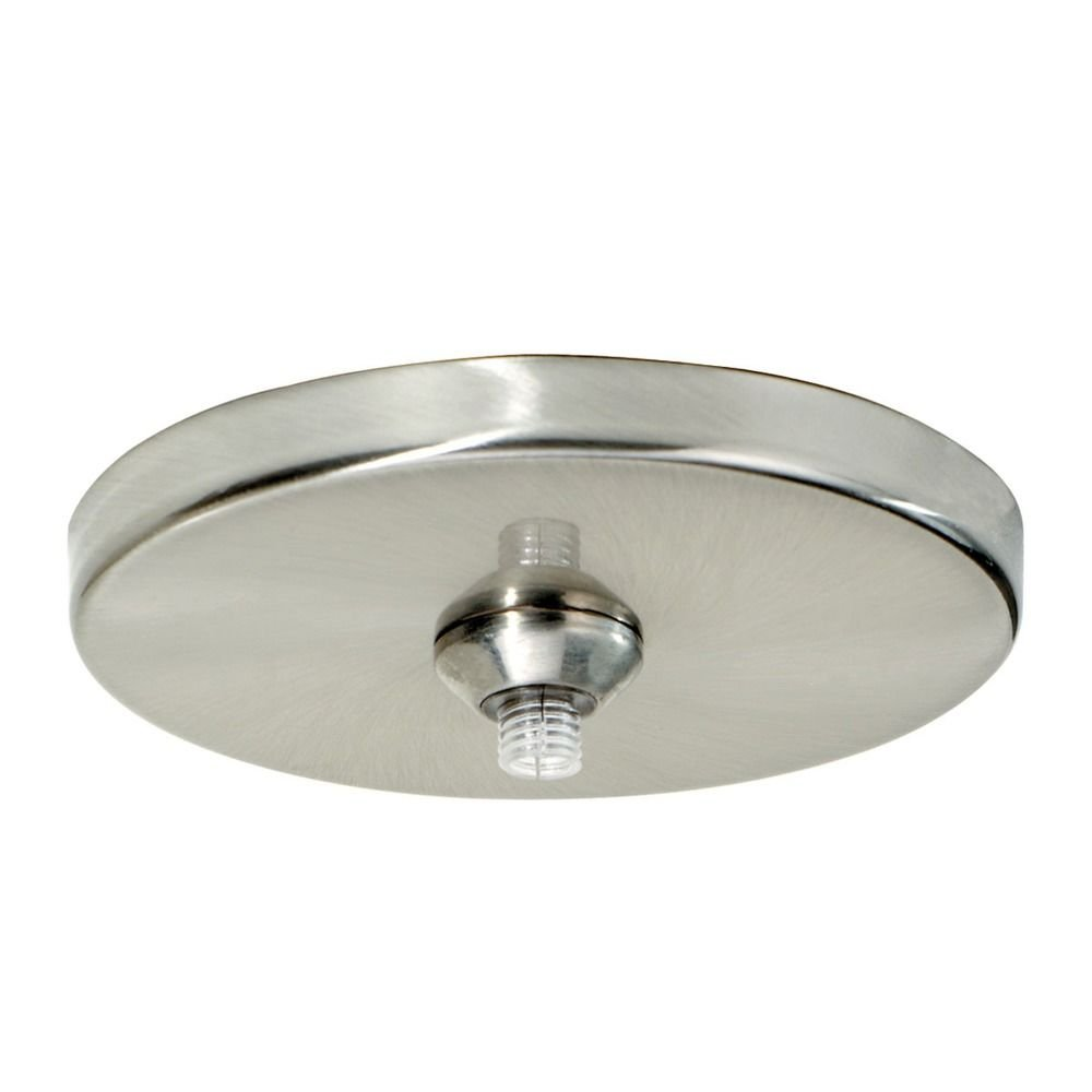 Tech Lighting 700fj4rfs Freejack 4 Round Ceiling Wall Flush Canopy Satin Nickel Com