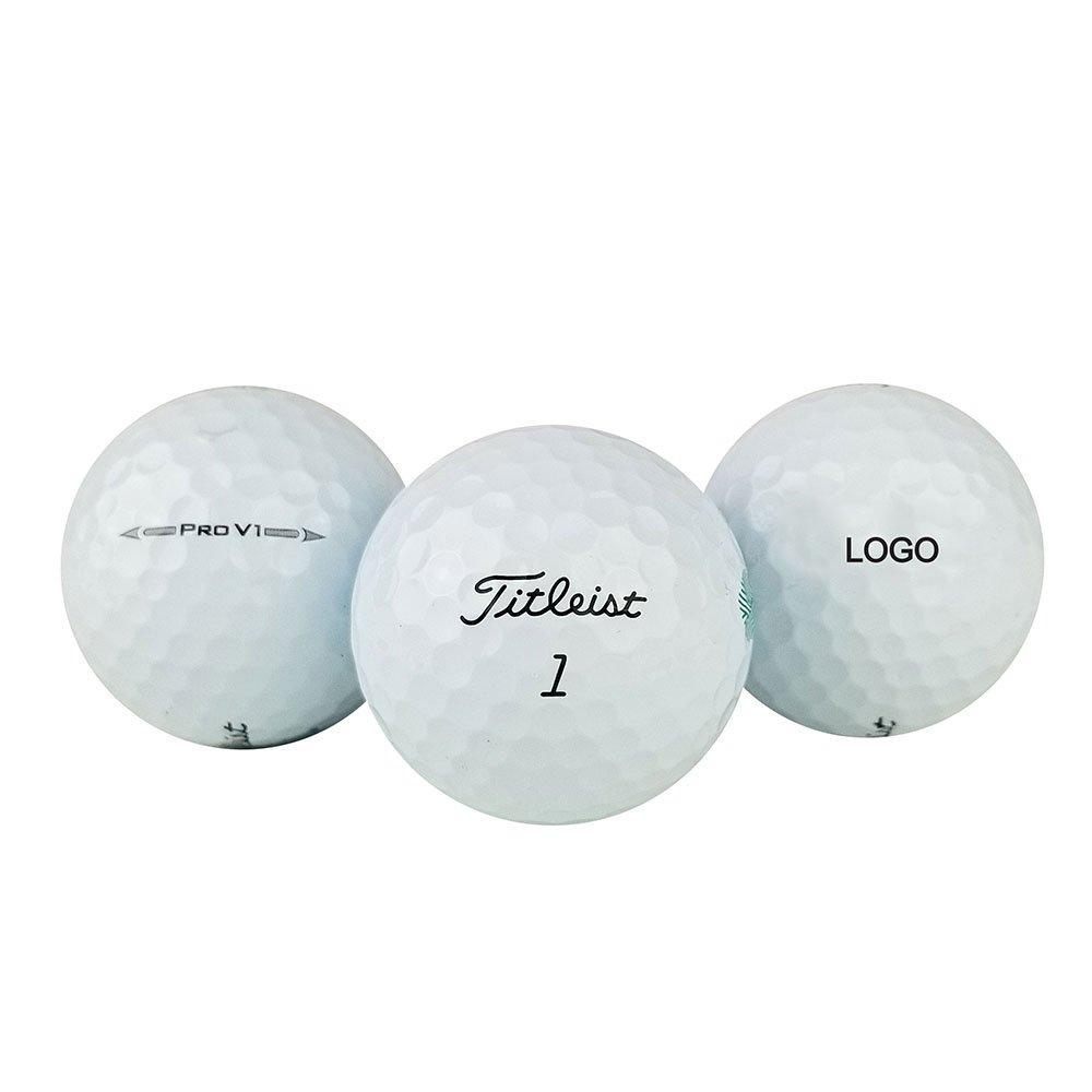 Titleist Pro v1ゴルフボール(ロゴオーバーラン) 1ダースホワイト   B07BZY32TT