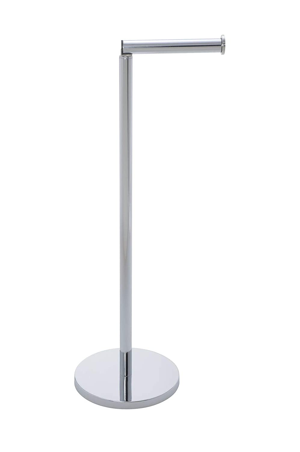 WenkoFree-standing toilet roll holder 2 8.3 x 21.7 x 6.7 inch Shiny