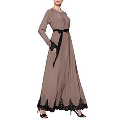 Zhuhaitf Maxi Dresses Kaftan Dubai Caftan Moroccan Robes Dresses Abaya For Women