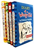 img - for Diary of a Wimpy Kid Collection 4 Books Set (The Last Straw, Rodrick Rules, Dog Days, Diary of A Wimpy Kid, Dog Days Hardback rest are Paperback) book / textbook / text book