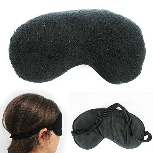 plush sleep eye mask silk
