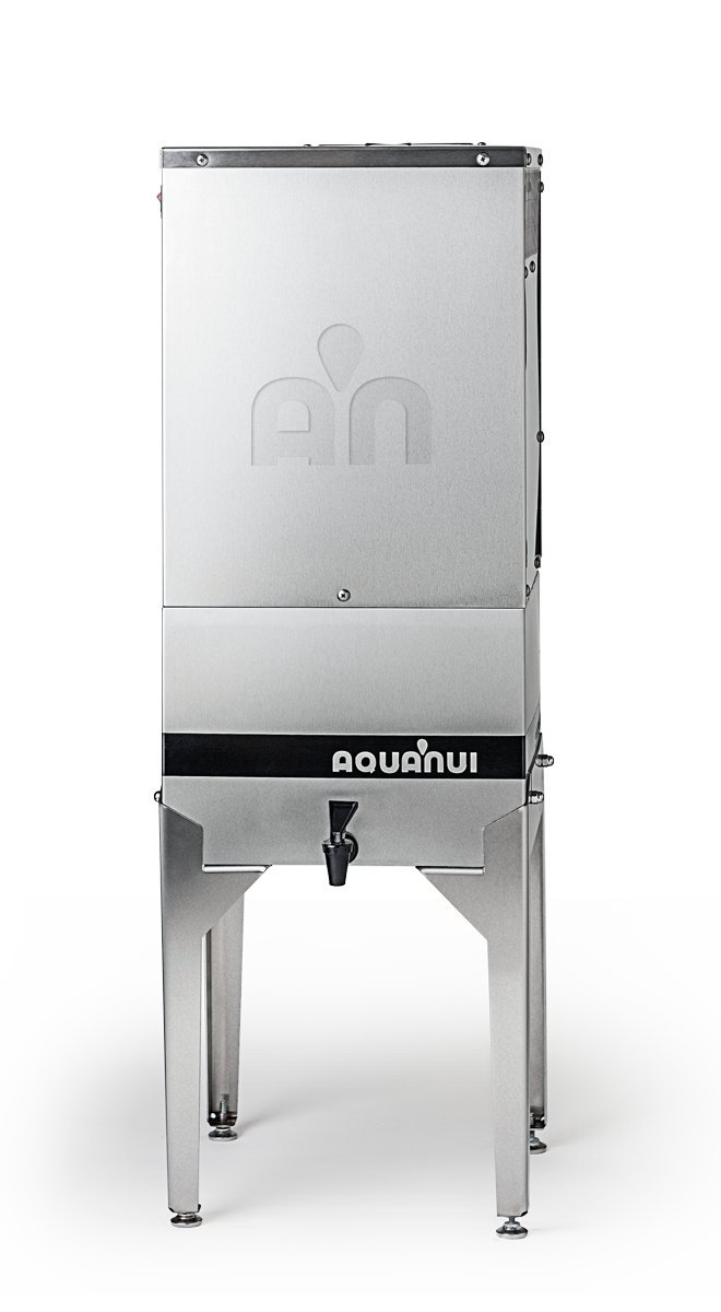 AquaNui 8G Premium Water Distillers, Stainless Steel Made in USA (Large (10 Gallons Storage Tank))