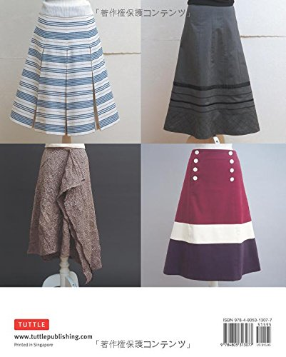 Stylish Skirts 23 Easy To Sew Skirts To Flatter Every Figure Includes Drafting Diagrams