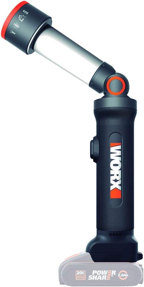 WORX WX027.9 LED Torch 4 Functions 20 V S//bat