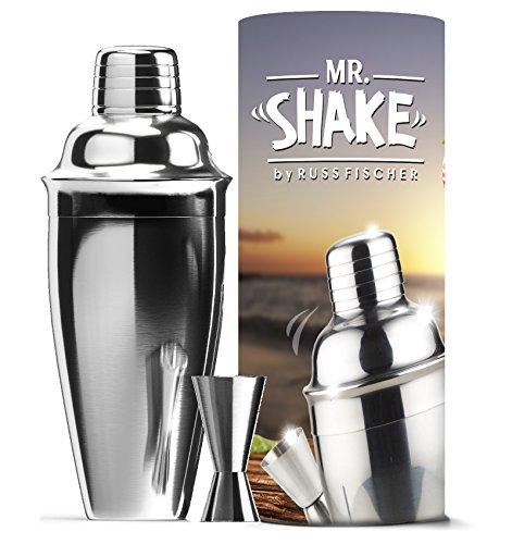 [Cocktail Shaker Set (750mm) - Stainless Steel Cocktail Shaker (24 oz), Jigger Included - Bar Set & Martini Maker - Dishwasher Safe - Unique Design] (Easy But Cute Halloween Treats)