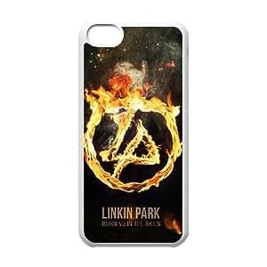 J-LV-F Print Linkin Park Pattern PC Hard Case for iPhone 5C
