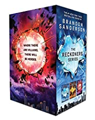The #1 New York Times Bestselling SeriesThe perfect gift for fans of the Renegades series, this boxed set includes all three hardcover editions of #1 New York Times bestselling author Brandon Sanderson's Reckoners series—Steelheart, Firefight...