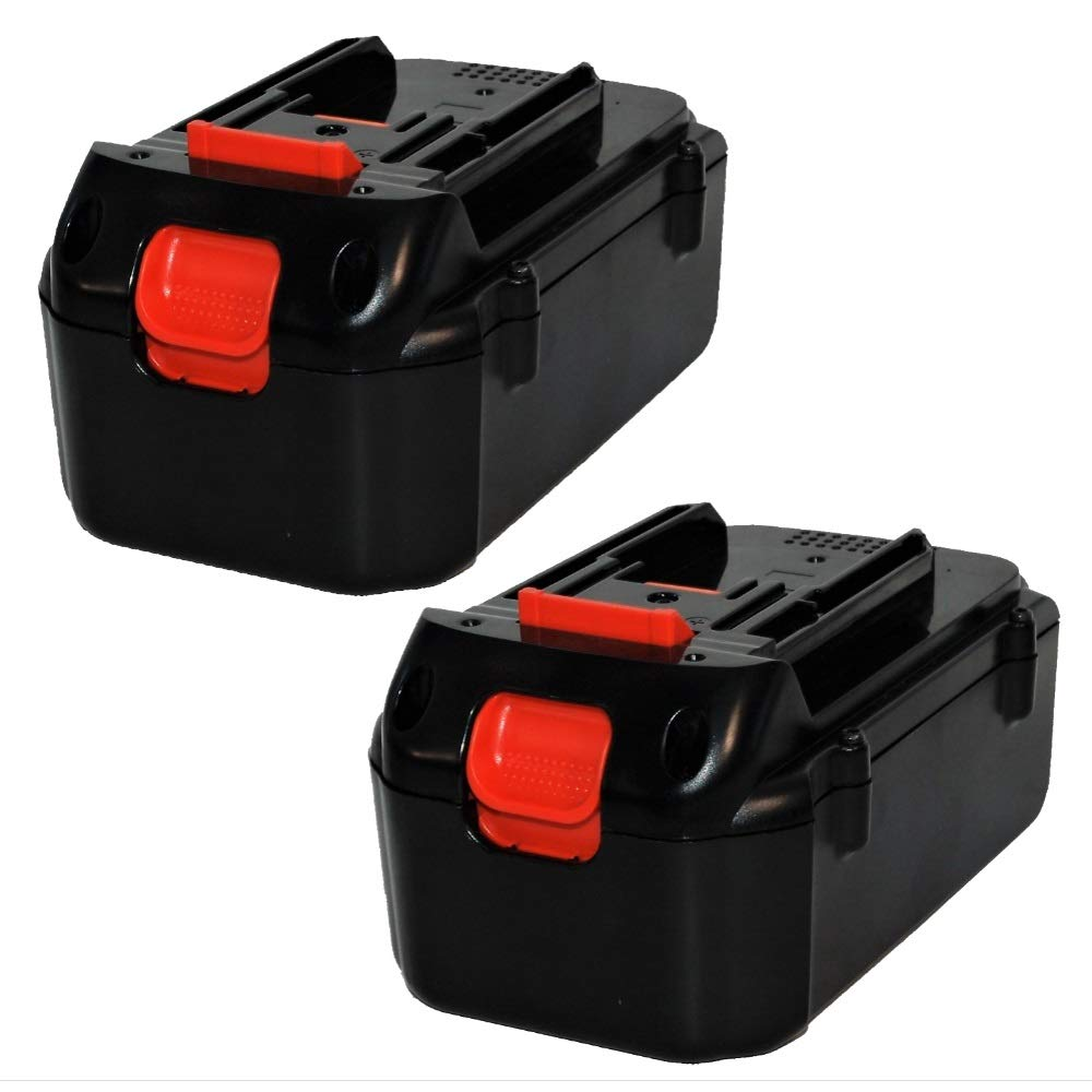 Upgraded 4.0Ah Lithium-ion 2 Pack Replacement Battery for Makita 36V Models BL3626, BL3622A