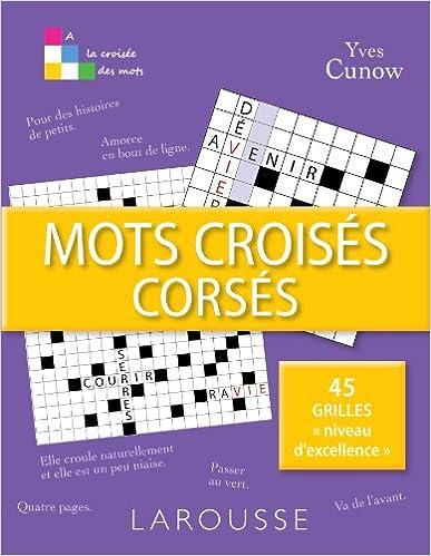 Livres Mots croisés corsés epub, pdf