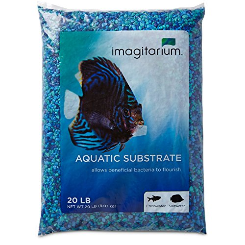 Imagitarium Blue Jean Aquarium Gravel, 20 LBS by Imagitarium